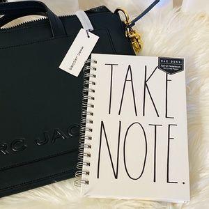 Rae Dunn Spiral Notebook {Take Note} Work/Home